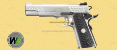KAC Knight Hawk M1911 Silver Full Metal GBB by WE